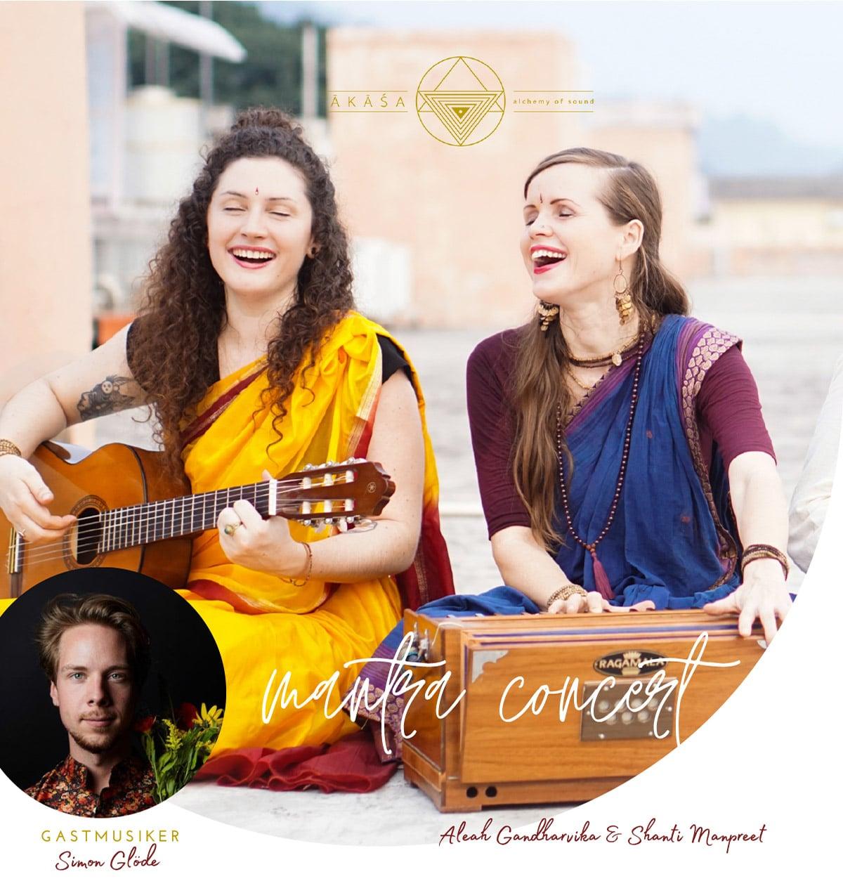 Mantra Konzert in Dorf Wangerland mit Akasha